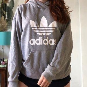 Gray Adidas Hoodie